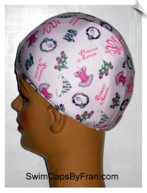 For Your Princess Lycra Swim Cap