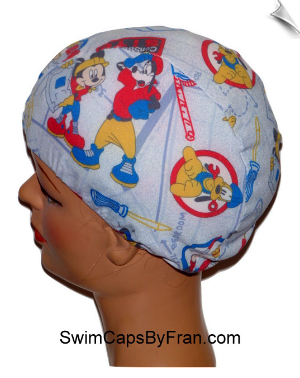 Disney Theme Toddler Swim Cap