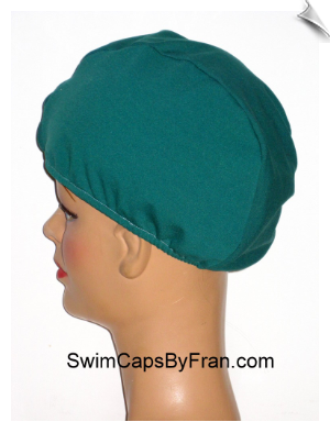 XXL Lycra Unisex Sleep Cap/Head Warmer - Green