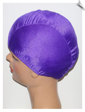 Extra Large Purple Lycra Swim Cap (XL)