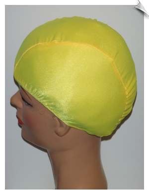 Extra Large Sunshine Yellow Lycra Swim Cap (XL)