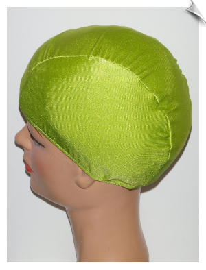 Extra Large Pea Pod Green Lycra Swim Cap (XL)