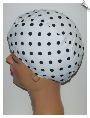 Toddler Polka Dot Lycra Swim Cap