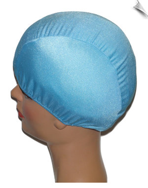Ice Blue Lycra Swim Cap