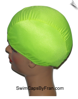 Chartreuse Toddler Lycra Swim Cap