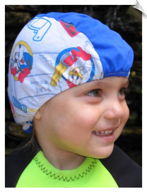 Disney Theme Toddler Lycra Swim Cap