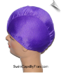 Extra Extra Large Purple Lycra Swim Cap (XXL) (SKU: 1000-XXL)