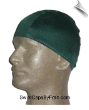 Mens Hunter Green Lycra Swim Cap (SKU: 1007-M)