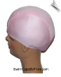 Extra Large Bubblegum Pink Lycra Swim Cap (XL)
