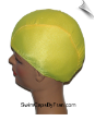 Extra Extra Large Sunshine Yellow Lycra Swim Cap (XXL) (SKU: 1015-XXL)