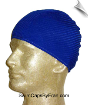 Unisex Royal Blue Ribbed Head Cover