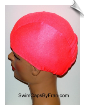 Coral Toddler Lycra Swim Cap (SKU: 1023-T)