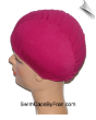Cranberry Lycra Swim Cap