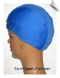 Extra Large Sky Blue Lycra Swim Cap (XL) (SKU: 1027-XL)