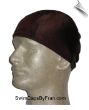 Extra Extra Large Chocolate Brown Lycra Swim Cap (XXL)