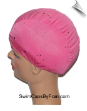 Studded Sequin Lycra Swim Cap (SKU: 1103)