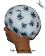 Skull & Crossbones Toddler Swim Cap (SKU: 1123-T)