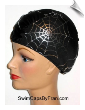 Spider Web Lycra Swim Cap (SKU: 1131)