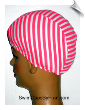 Candy Stripes Lycra Swim Cap