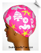 Day At The Beach Toddler Lycra Swim Cap