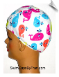 Kids For A Whale Of A Good Time Lycra Swim Cap (SKU: 1323)