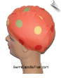 Toddler Polka Dot Lycra Swim Cap (SKU: 1405-T)