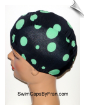 Extra Large Polka Dot Lycra Swim Cap (XL) (SKU: 1409-XL)