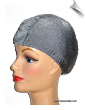 Gray Lycra Swim Cap