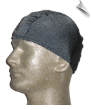 Mens Gray Lycra Swim Cap (SKU: 1016-M)