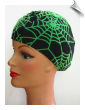 Spider Web  Lycra Swim Cap (SKU: 1109)