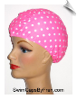 Toddler Polka Dot Lycra Swim Cap (SKU: 1413-T)