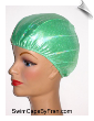 Toddler Iridescent Lime Lycra Swim Cap (SKU: 1119-T)