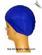 Extra Extra Large Royal Blue Lycra Swim Cap (XXL) (SKU: 1017-XXL)