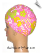 Toddler Floral Swim Cap (SKU: 2007-T)