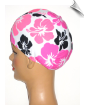 Toddler Floral Lycra Swim Cap (SKU: 2020-T)