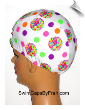 Toddler Print Lycra Swim Cap (SKU: 1145-T)