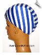 ALL STRIPES Lycra Swim Cap