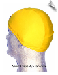 Mellow Yellow Lycra Swim Cap (SKU: 1051)
