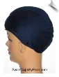 Navy Blue Lycra Swim Cap (SKU: 1001)