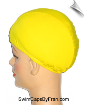 Extra Large Mellow Yellow Lycra Swim Cap (XL)