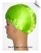 Electric Lime Green  Lycra Swim Cap