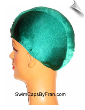 Extra Large Kelly Green Lycra Swim Cap (XL) (SKU: 1061-XL)
