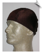 Extra Large Chocolate Brown Lycra Swim Cap (XL) (SKU: 1058-XL)