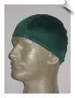 Mens Hunter Green Lycra Swim Cap