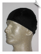 Mens Black Lycra Swim Cap