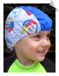 Disney Theme Toddler Lycra Swim Cap (SKU: 1306-T)