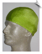 Mens Pea Pod Green Lycra Swim Cap