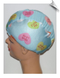 Conversation Candy Hearts Lycra Swim Cap