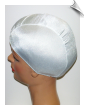 Extra Large White Lycra Swim Cap (XL) (SKU: 1002-XL)