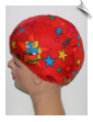 Toddler Print Lycra Swim Cap (SKU: 1312-T)